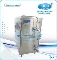 200 L Continuous Ice Cream Freezer