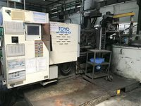 Used TOYO 125T Cold Chamber Die Casting Machine