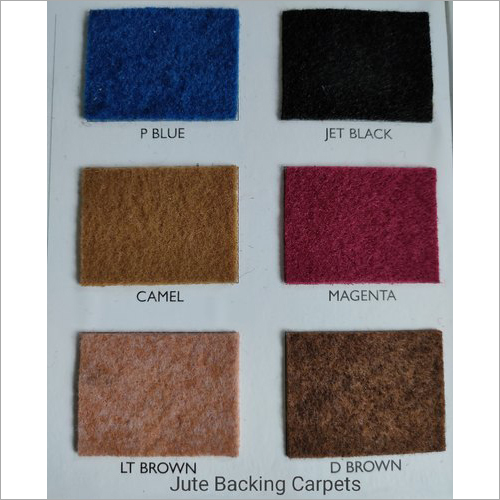 Non Woven Jute Backing Carpets