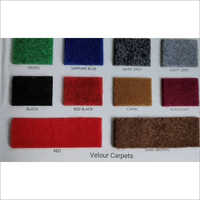 Polyester Velour Carpet