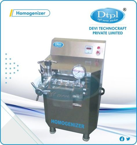 100 L Milk Homogenizer