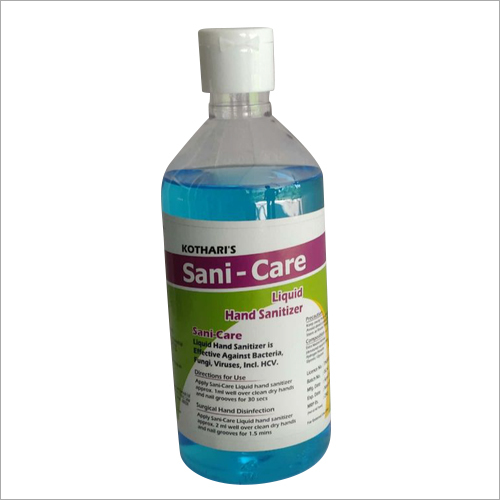 80 Percent Sani Care Liquid Hand Sanitizer