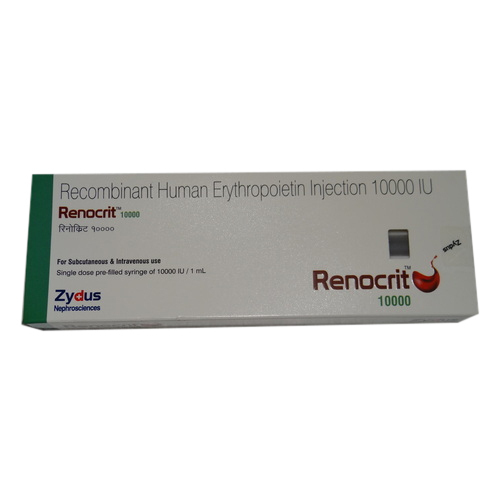 RENOCRIT 10000IU INJECTION