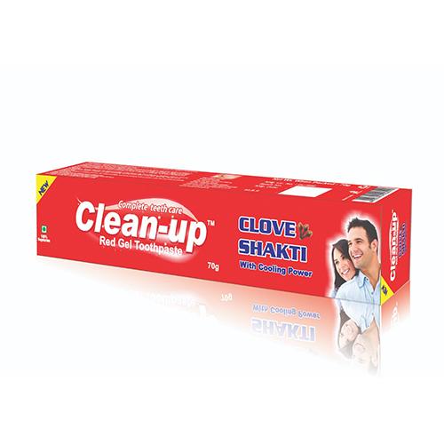 Clean up Gel Toothpaste