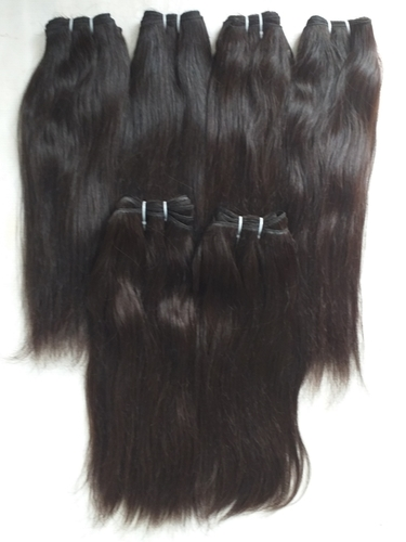 Temple Virgin Unprocessed Raw straight Hair