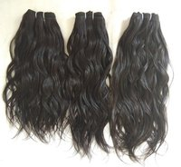 Raw Unprocessed Indian Wavy 100% Human Hair