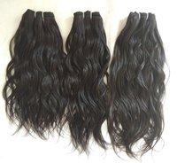 Raw Unprocessed Indian Wavy Human Hair