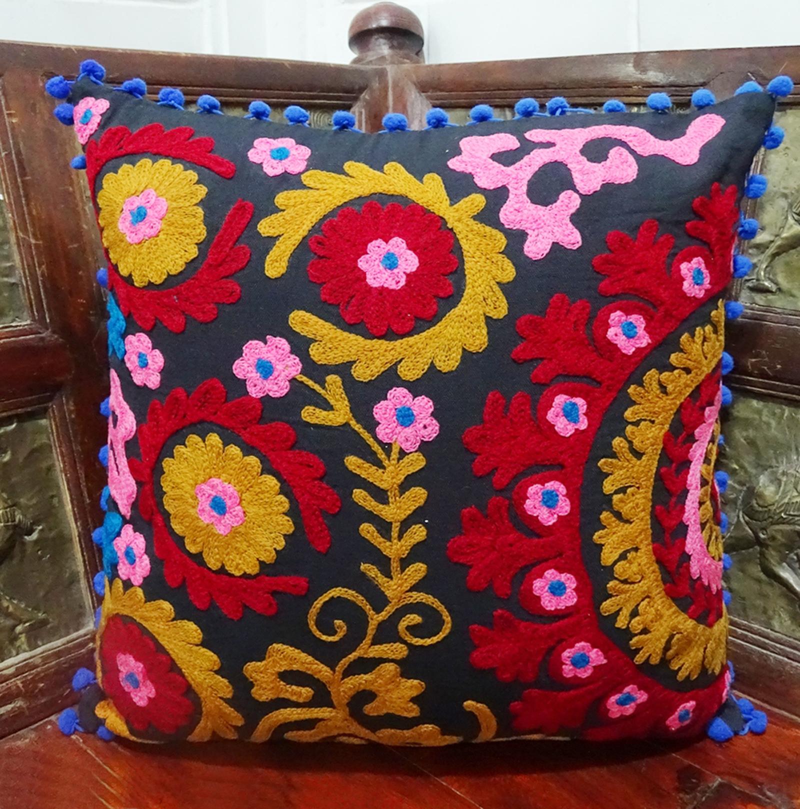 Suzani Embroidery Cusion Cover