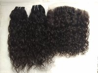 Unprocessed Brazilian Virgin curly Human Hair