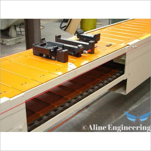 Industrial Slat Conveyor