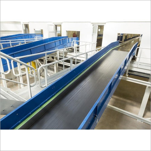 Mild Steel Flat Belt Conveyor