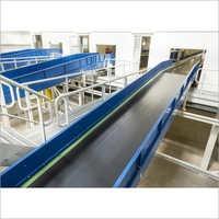 Mild Steel Flat Belt Conveyor