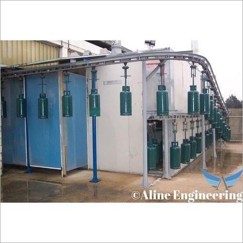 Cylinder Conveyor System