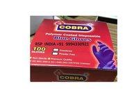 Cobra Disposable Blue Gloves
