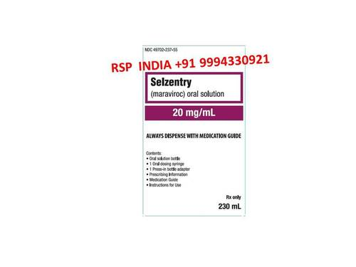 Selzentry 20mg Solution