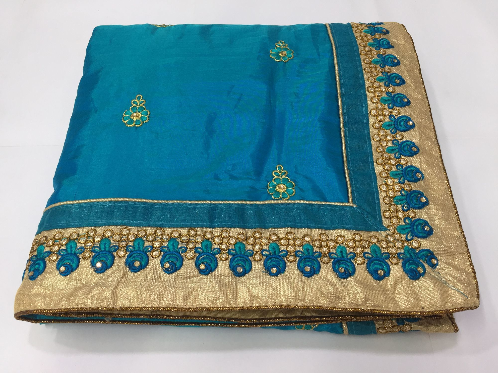 Silk & Georgette Embroidered Saree collection