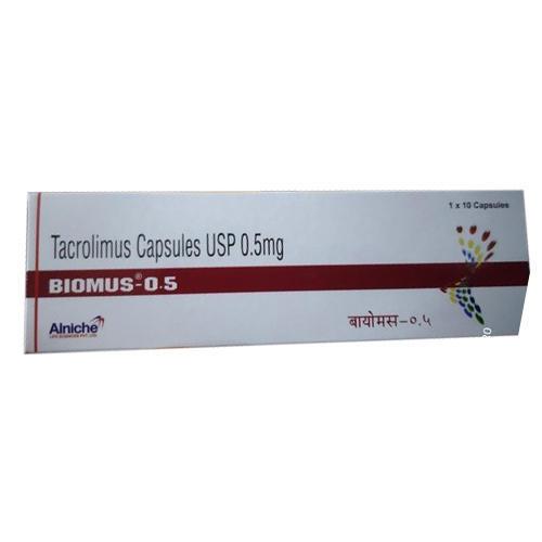 BIOMUS 0.5MG Tacrolimus Capsules