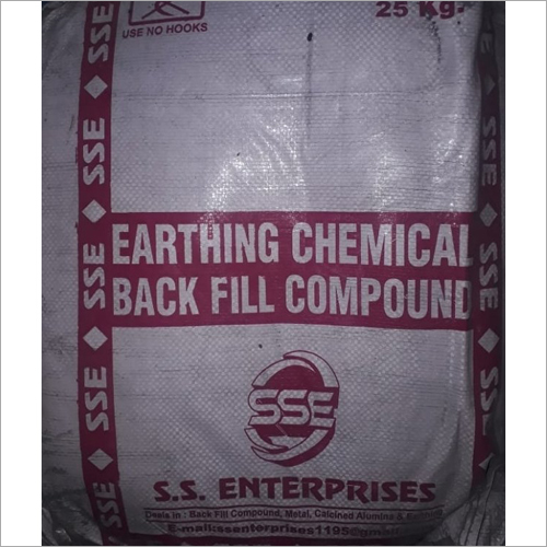 25 kg Earthing Chemical Back Fill Compound