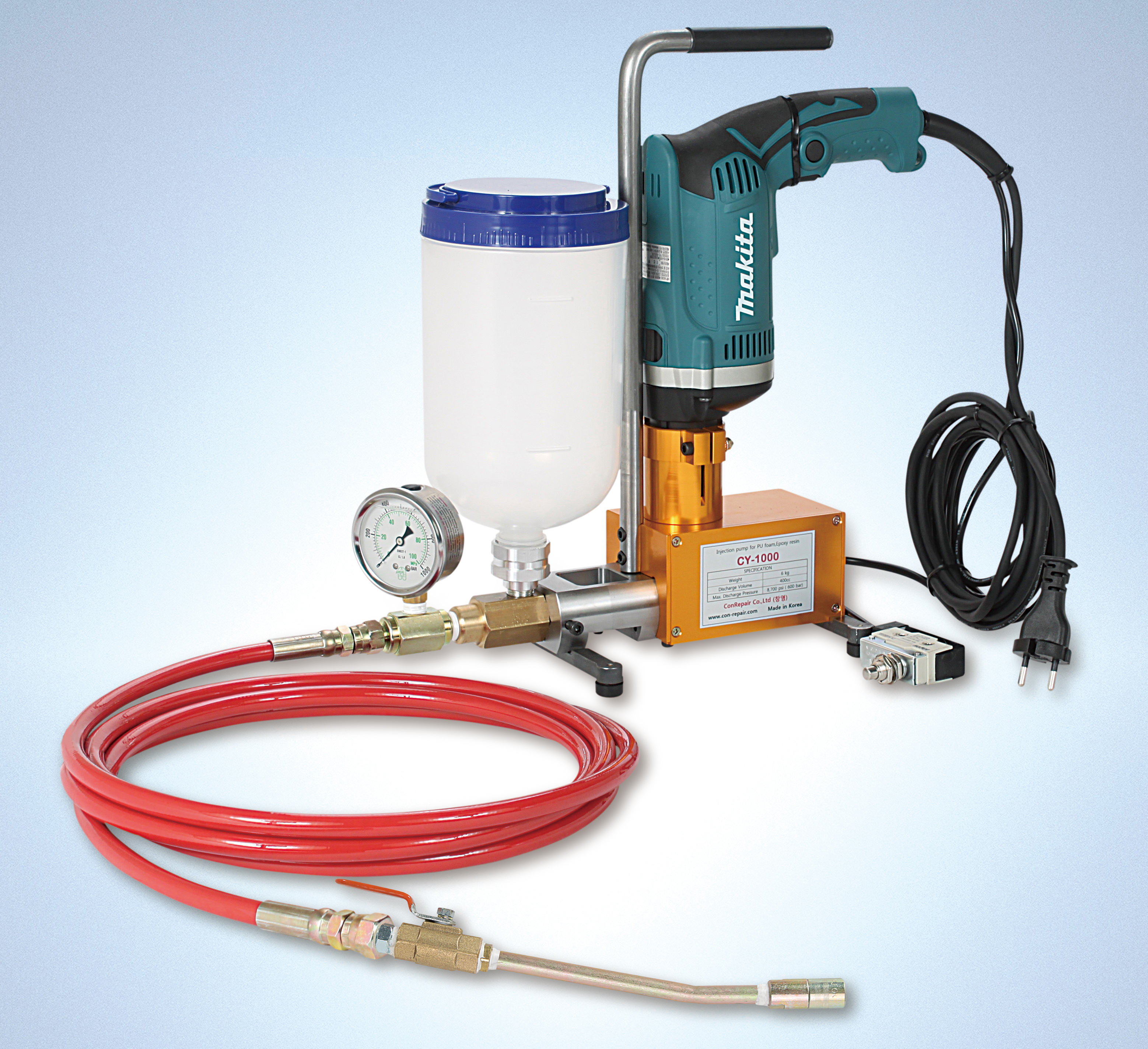 Injection Packer For Grout PU/EPOXY