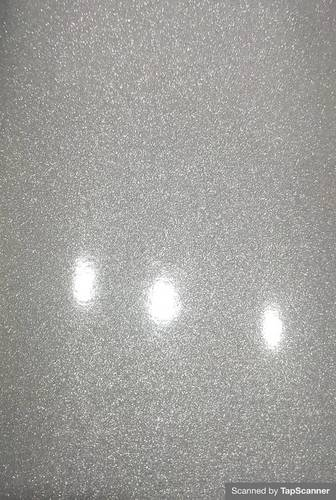 Sparkle Silver Texture Back Mobile Skin Material