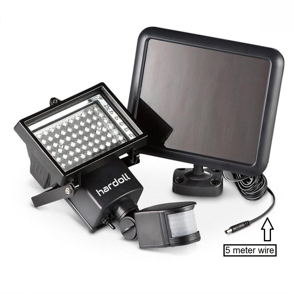 60 LED Solar Motion Sensor Outdoor Lamp