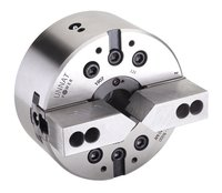 Unnat 2 Jaw Power Chucks With Open Centre