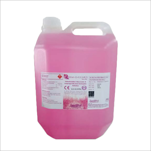 5000 ML Germ O Guard Liquid Sanitizer