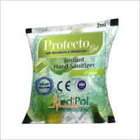 2 ML Protecto Gel Instant Hand Sanitizer Sachet