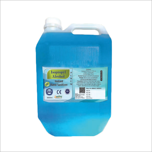 5000 ML Isopropyl Alcohol Instant Hand Sanitizer