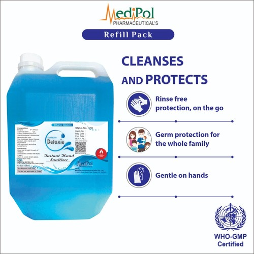 5000 ML Detoxie Instant Hand Sanitizer