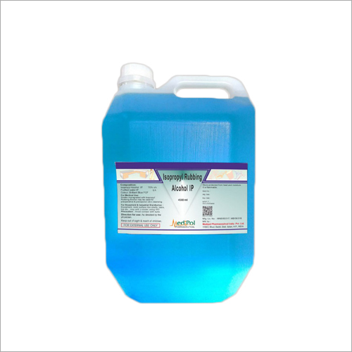 4500 ML Isopropyl Rubbing Alcohol IP Sanitizer