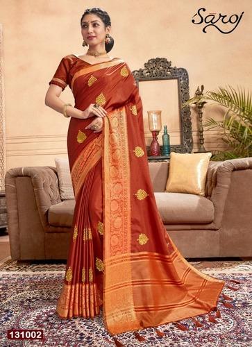 Dolla Chitt Pallu Saree