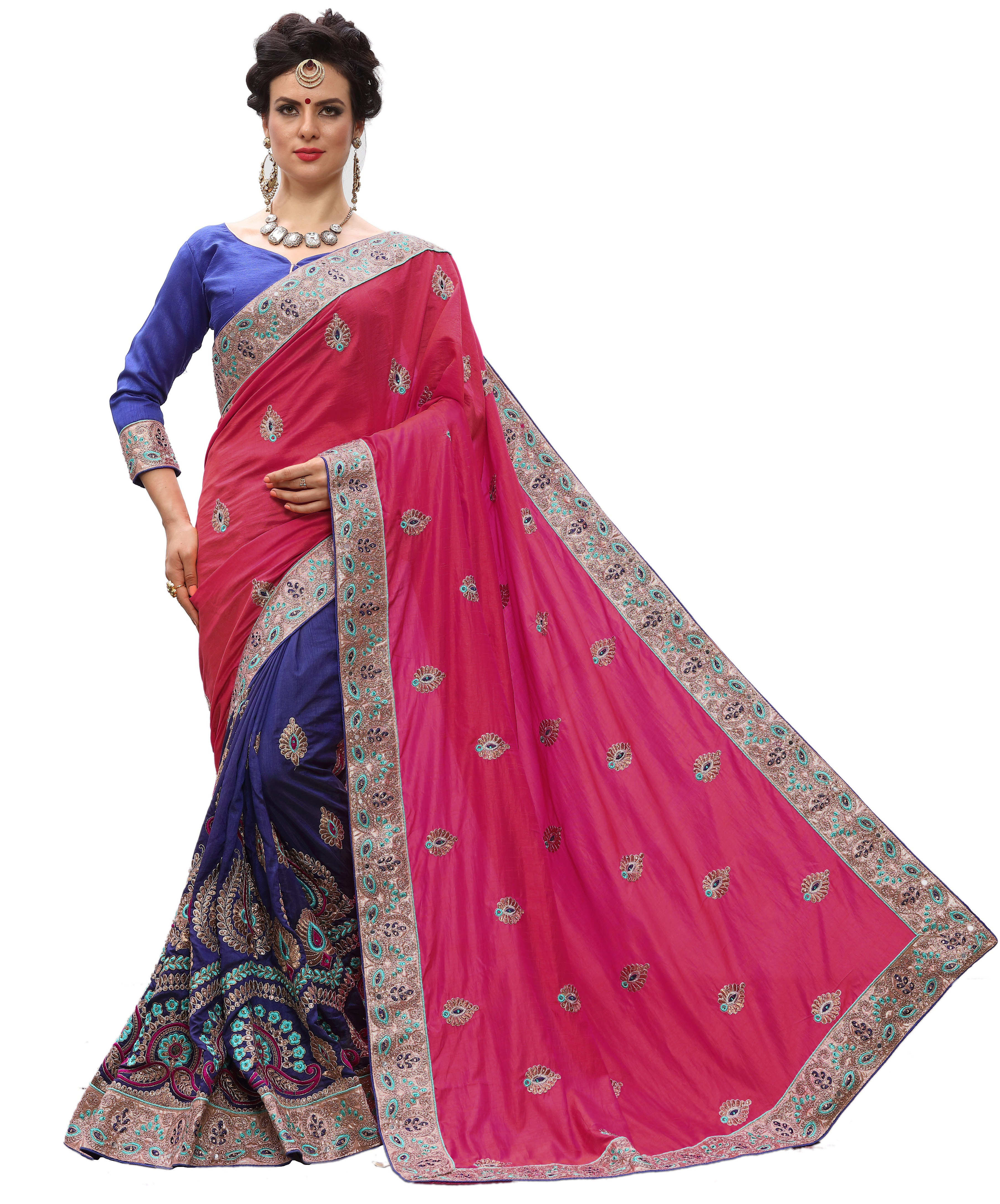 Traditional Embroidered Saree Collection