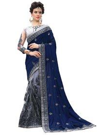 Designer Embroidered Lycra Saree collection
