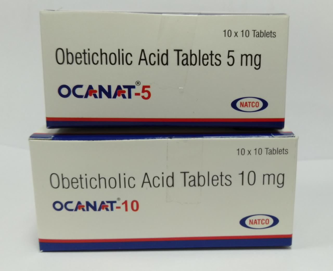 Ocanat 5mg -Obeticholic Acid Tablets