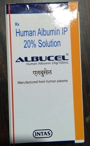 Albucel 20% Albumin Infusion Injection