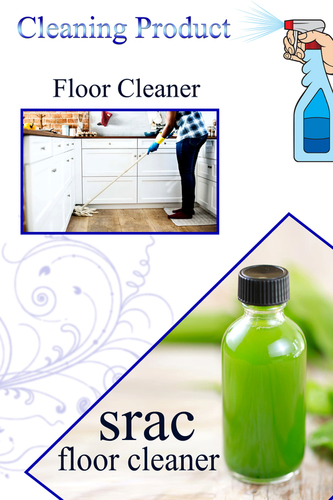 Floor Cleaner Gel Form