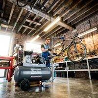 Automan oil-lubricated Piston compressor