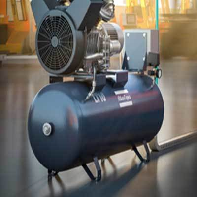 LE LT oil -Lubricated aluminium piston compressor