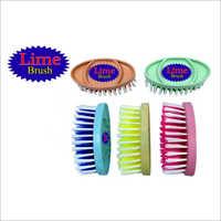 6 Inch Plastic Clothes Brush