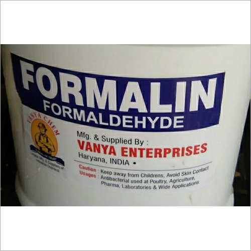 Liquid Formalin Formaldehyde