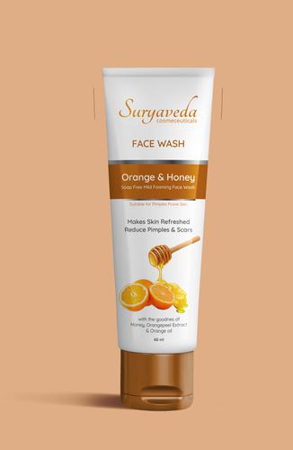 Orange and Honey Face Wash