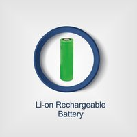 Josh 1200 mAh Rechargeable Battery LED Torch