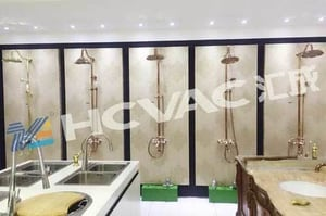PVD Coating Machine System for Tap, Faucet, Mixer, Bathroom Accessories