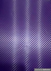 Purple Carbon Fiber Texture Back Mobile Skin Material