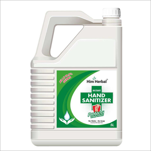 5 Ltr Him Herbal Hand Sanitizer