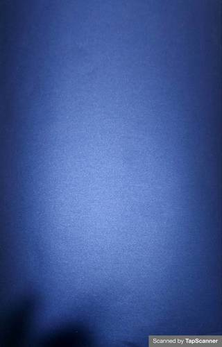 Mettalic Matte Blue Texture Back Mobile Skin Material