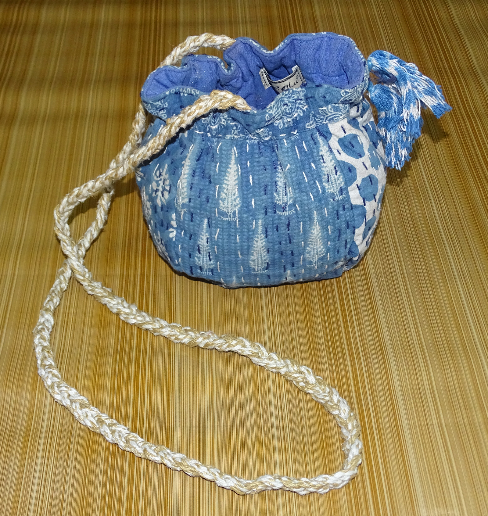 Indigo Handmade Pouches