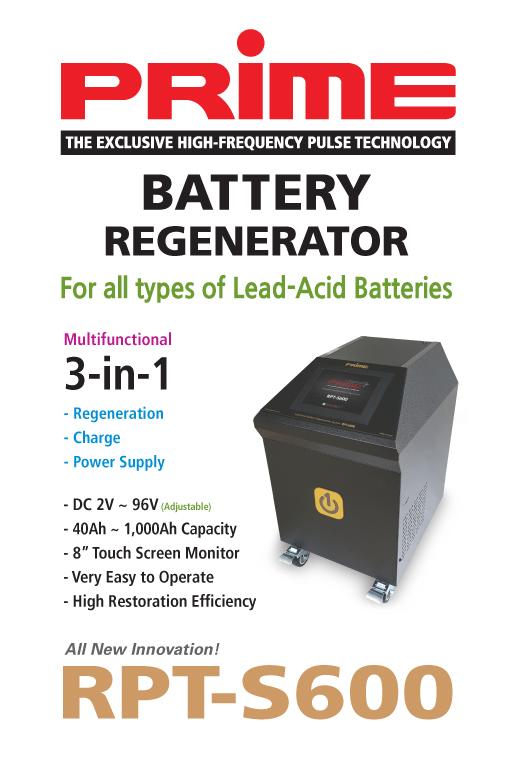 RPT-S600 Battery Regenerator