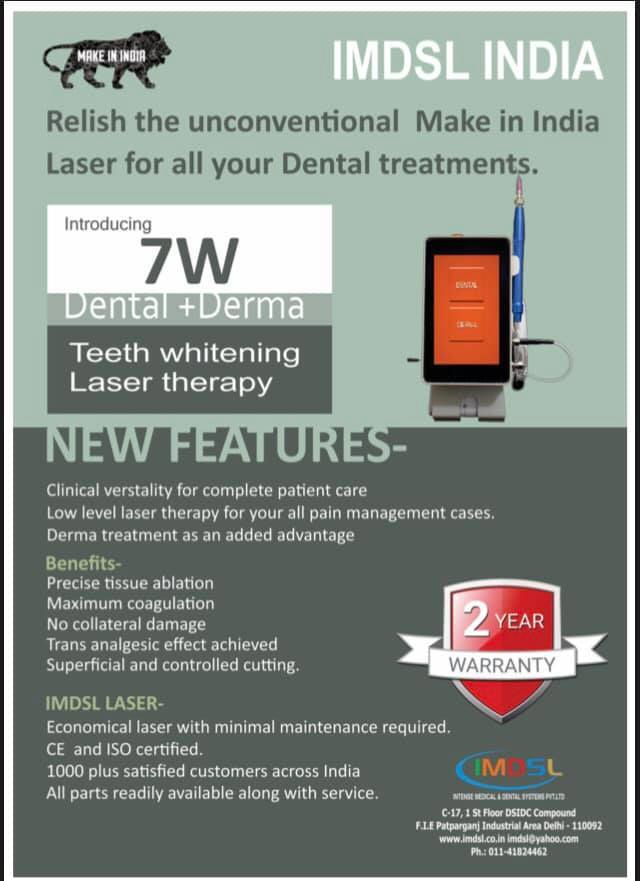 7W Dental Diode Laser